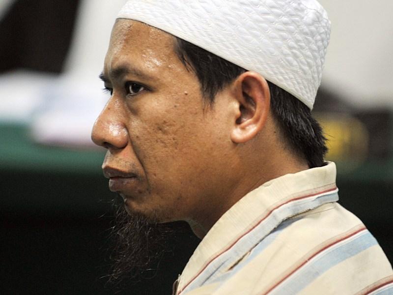 Aman Abdurrahman in a file photo. Photo: AFP/Bay Ismoyo