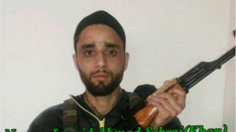 Junaid Ashraf, son of Hurriyat chief Muhammad Ashraf Sehrai. Photo: Majid Hyderi