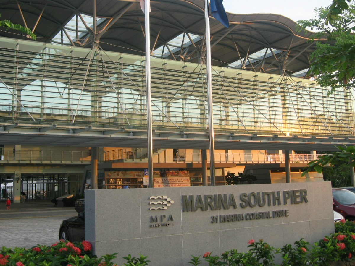 Marina South Pier in Singapore. Photo: Wikimedia Commons/Terence Ong