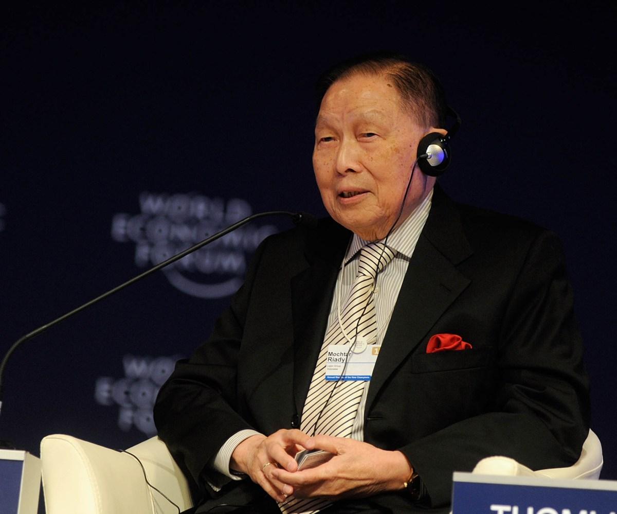 Mochtar Riady, Chairman, Lippo Group. Photo: World Economic Forum/Adam Nadel