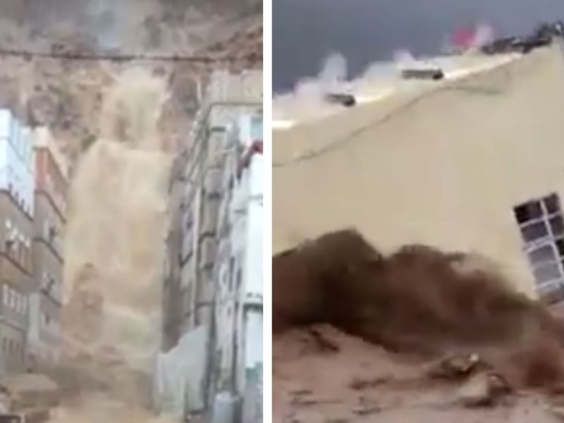 Videos posted on social media showed the destruction wreaked by Cyclone Mekunu in Oman. Photo: Facebook