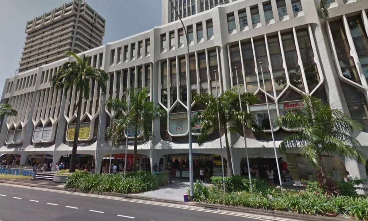 Peninsula Plaza in Singapore. Photo: Google Maps