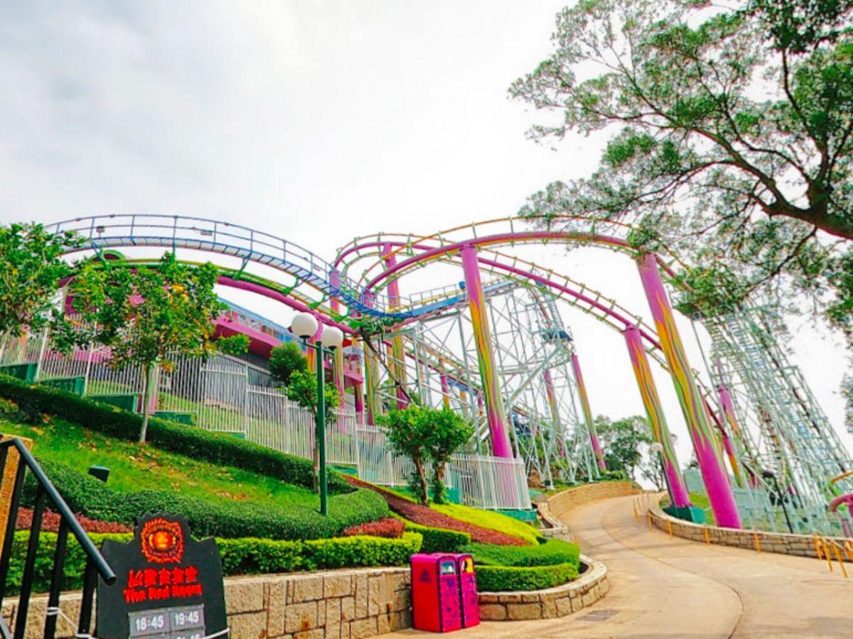 The Dragon roller coaster at Hong Kong Ocean Park. Photo: Google Map/N John