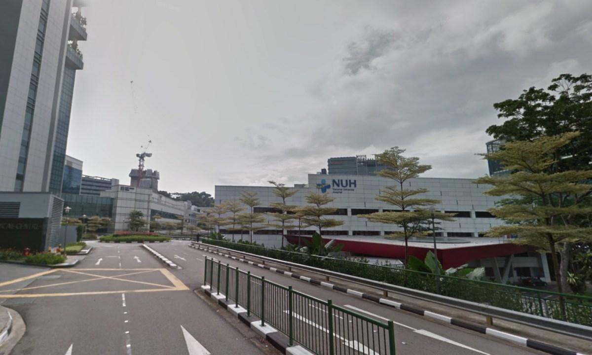 National University Hospital, Singapore. Photo: Google Maps