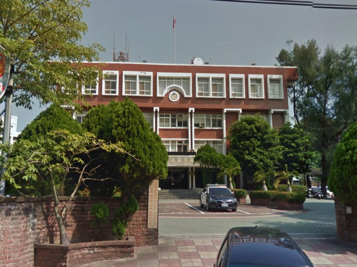 Tongxiao Precinct of the Miaoli County Police Bureau, Taiwan. Photo: Google Maps