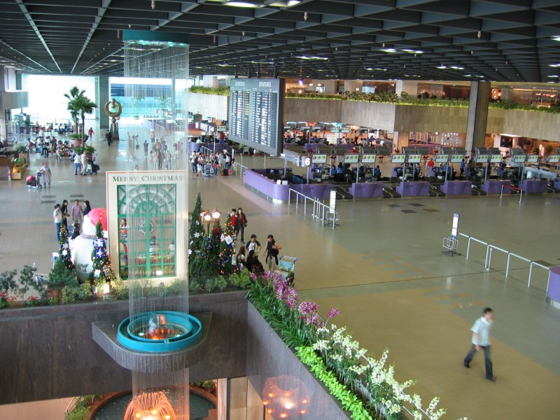 Changi Airport, Singapore. Photo: Wikimedia Commons