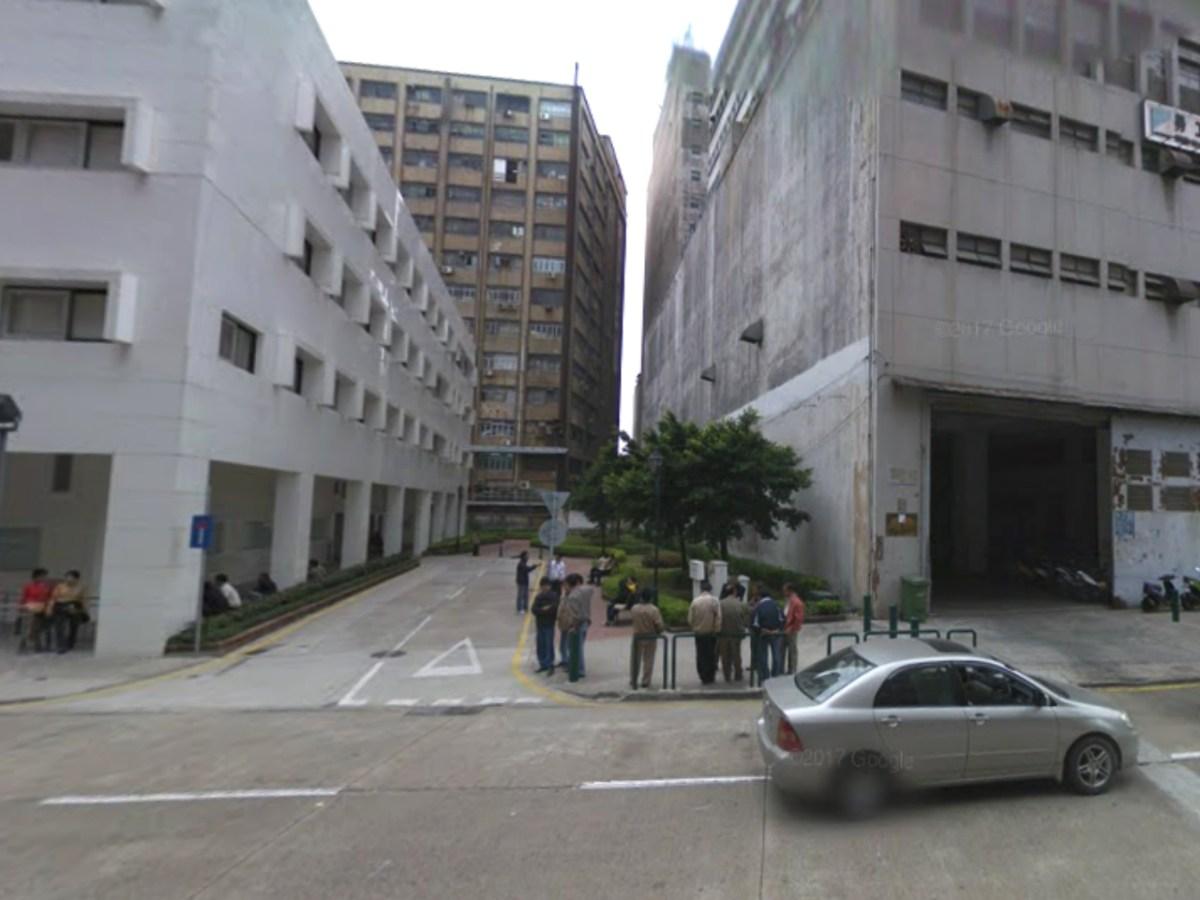 The intersection of Avenida do Dr Francisco Vieira Machado and Travessa 10 de Maio in Macau, where the baby boy was dumped. Photo: Google Maps