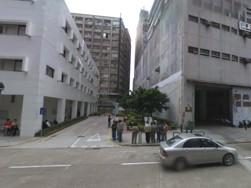 The intersection of Avenida do Dr Francisco Vieira Machado and Travessa 10 de Maio in Macau, where the baby boy was dumped. Photo: Google Maps