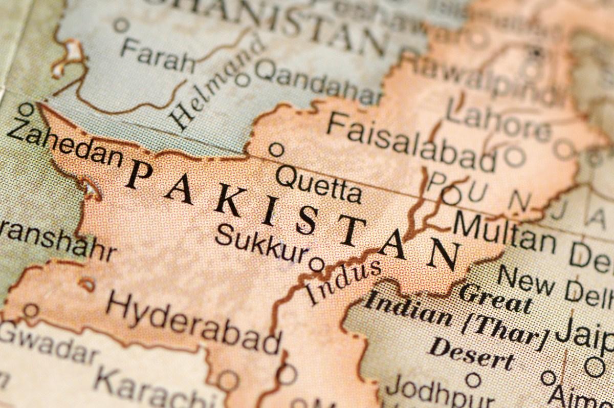Map ofPakistan: iStock
