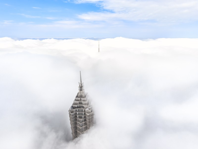 Seas of clouds in Shanghai. Photo: iStock