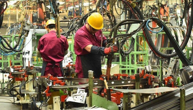 "China's manufacturing sector is included in the nation-wide ""Market Access Negative List."" Photo: AFP"