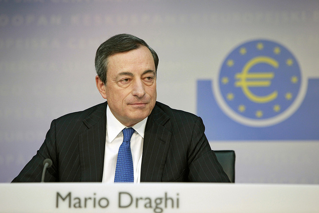 European Central Bank chief Mario Draghi. Photo: Flickr Commons