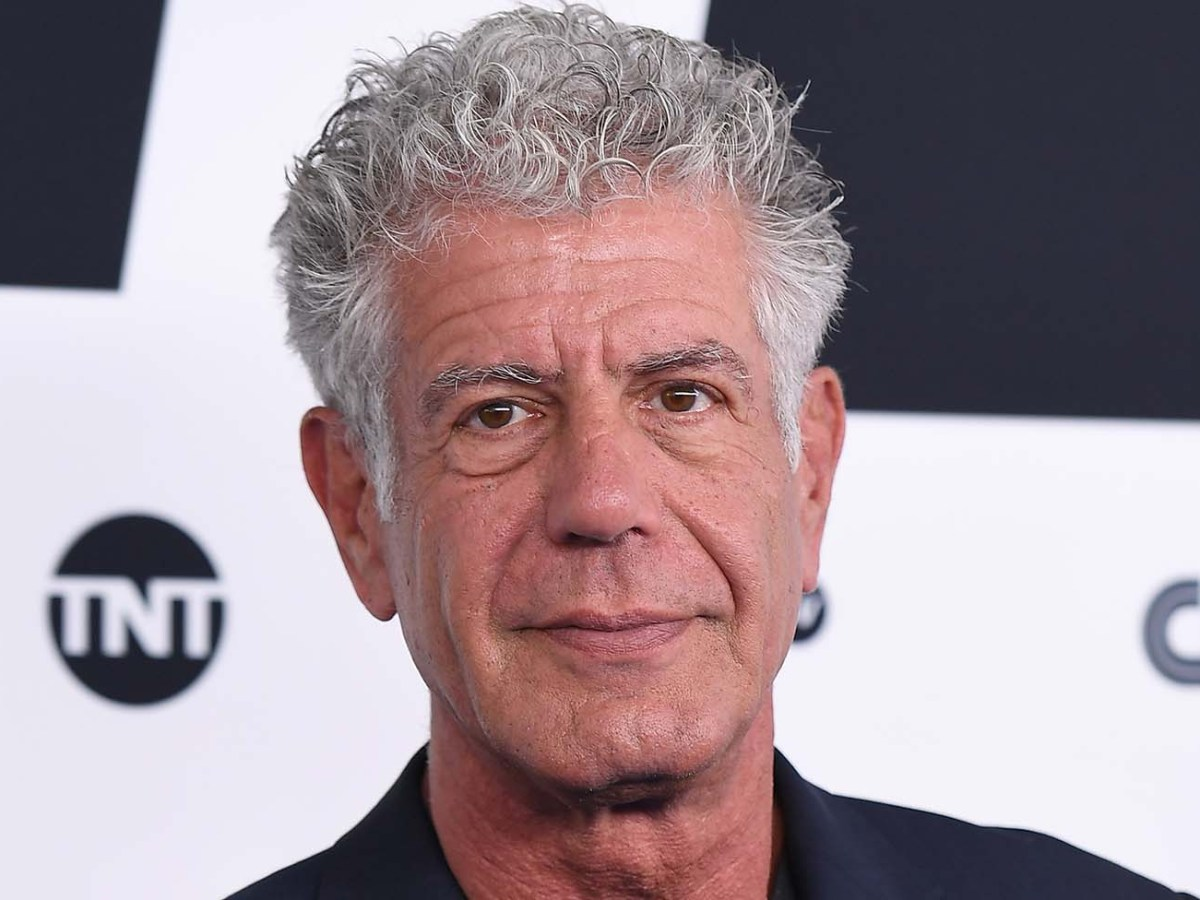 Anthony Bourdain attends the Turner Upfront 2017 at The Theater at Madison Square Garden on May 17, 2017. Photo: AFP/Angela Weiss