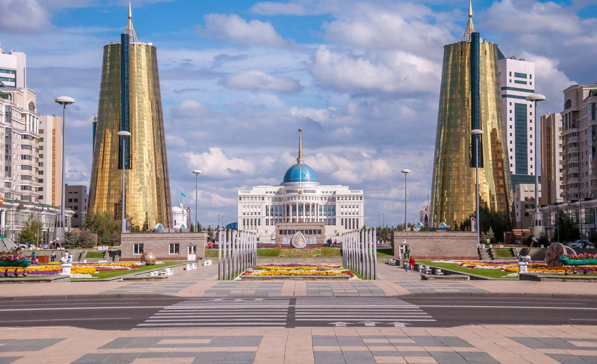 The Kazakhstan Presidential Palace, Acorda, in the capital Astana. Photo: iStock