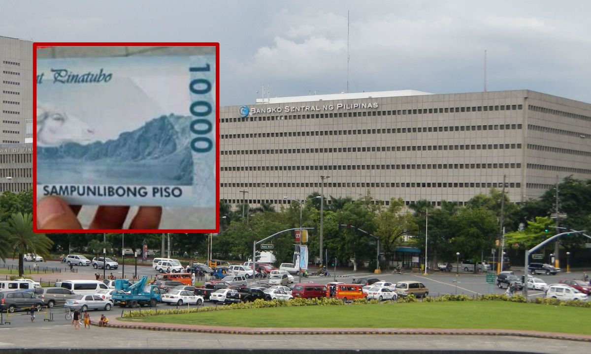 The Bangko Sentral ng Pilipinas warned the public that it has not produced nor issued any 10,000 peso banknote. Photo: Bangko Sentral ng Pilipinas, Wikimedia Commons