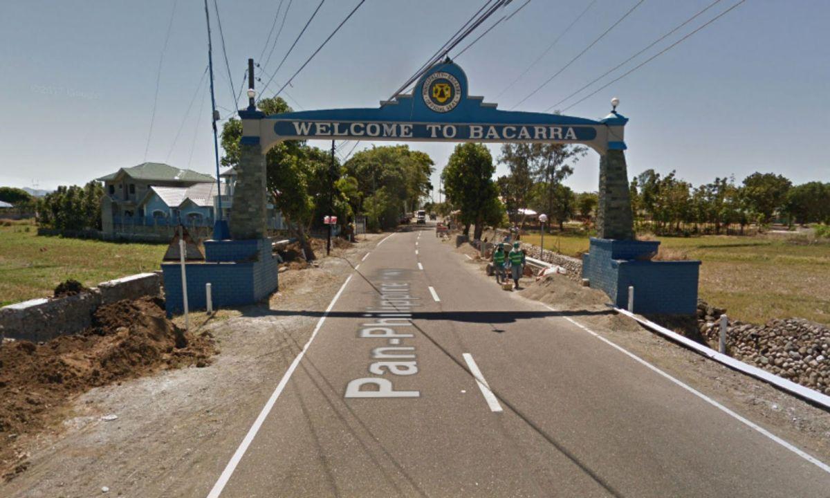Bacarra Welcome Arch in llocos Norte, Philippines. Photo: Google Maps