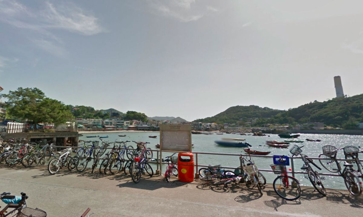 Lamma Island where the incident took place. Photo: Google Maps