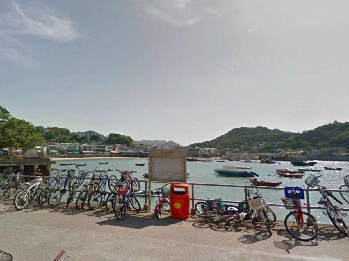 Lamma Island where the incident took place. Photo: Google Maps