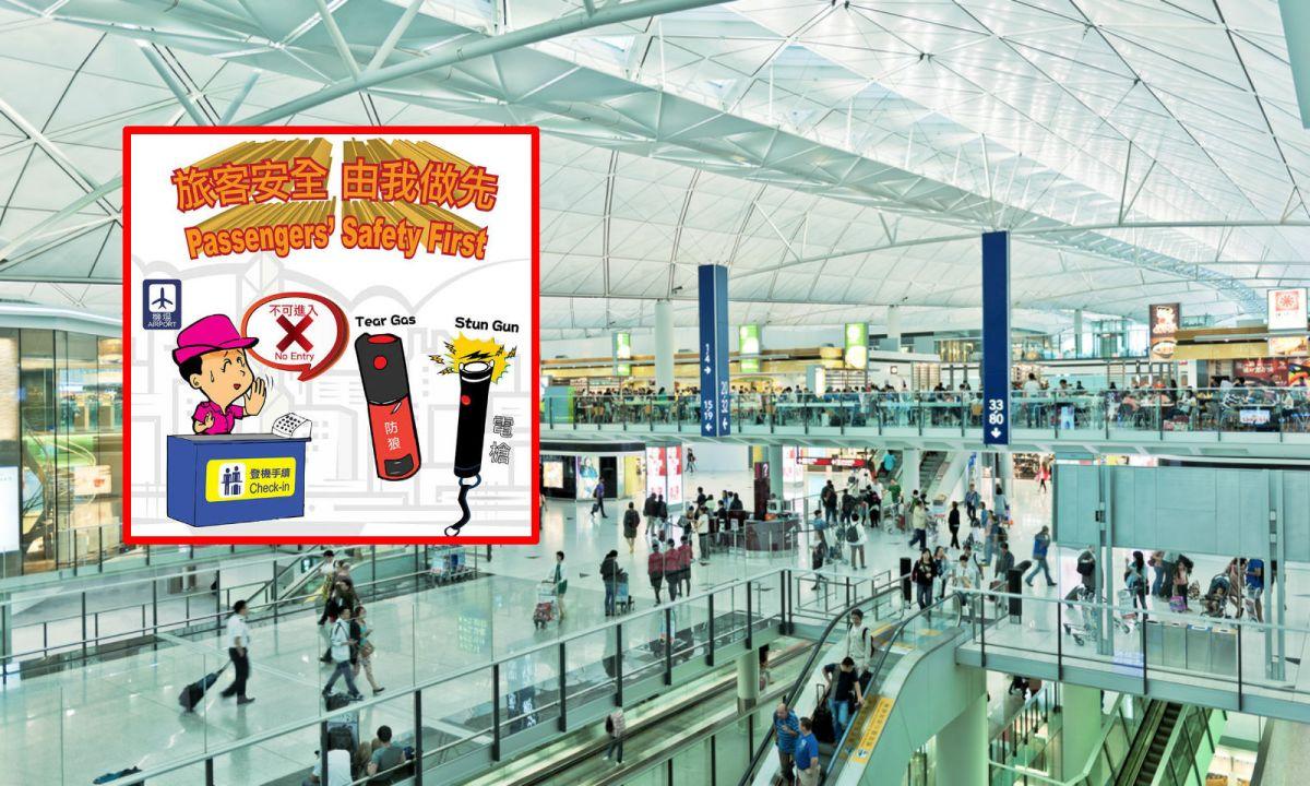 Hong Kong International Airport. Photo: iStockphoto/HK Police