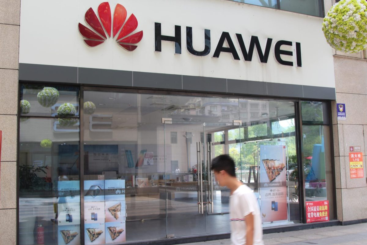 Chinese telecoms giant Huawei has been barred from supplying Australia's 5G market as bilateral trade tensions intensify. Photo: AFP
