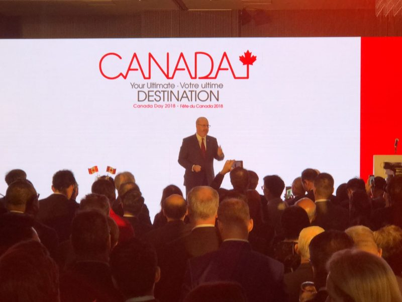 Canadian Consul General to Hong Kong Jeff Nankivell has reaffirmed his country's open door policy towards immigrants and investment. Photo: Asia Times