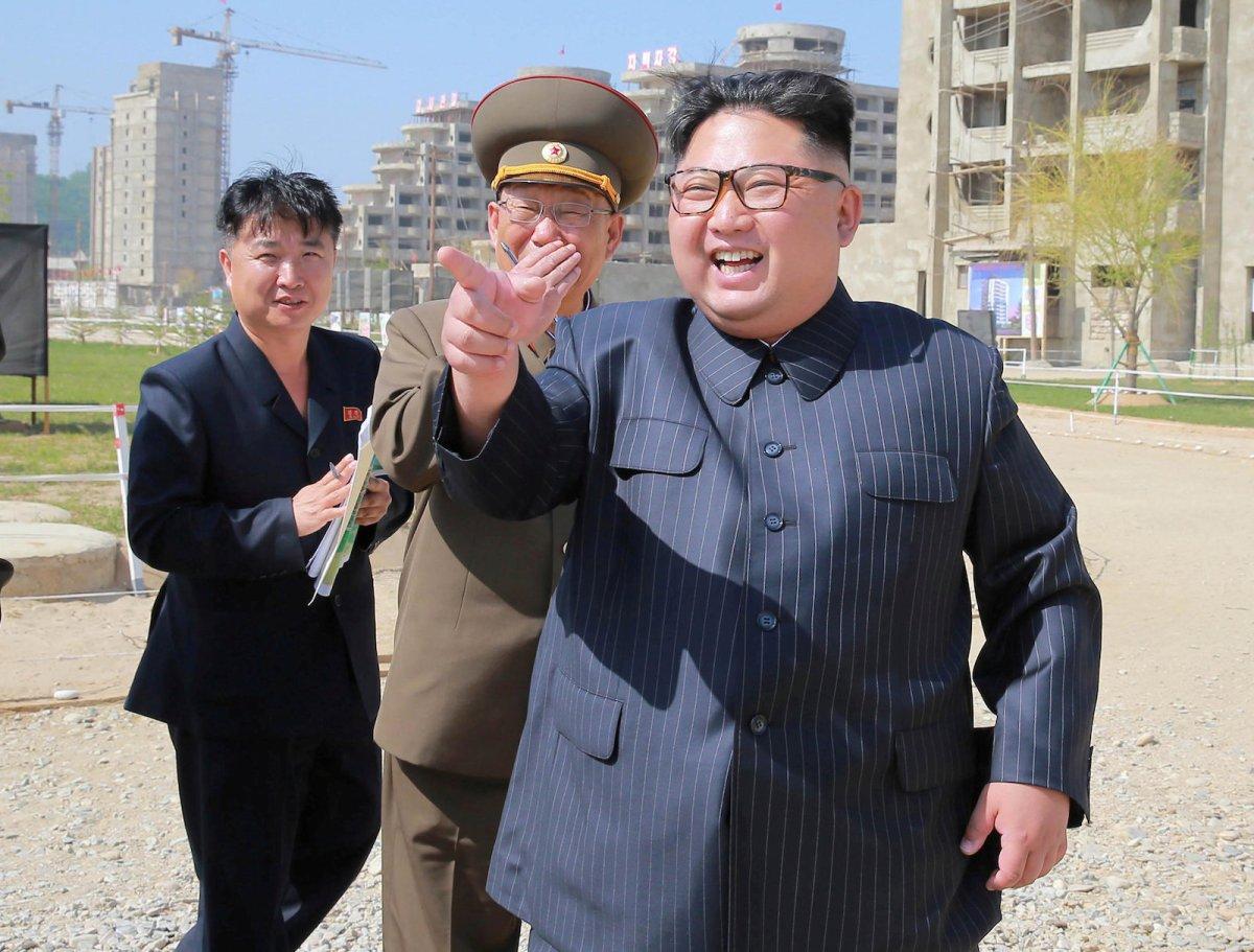 North Korean leader Kim Jong-un had a traumatic childhood. Photo: Reuters
