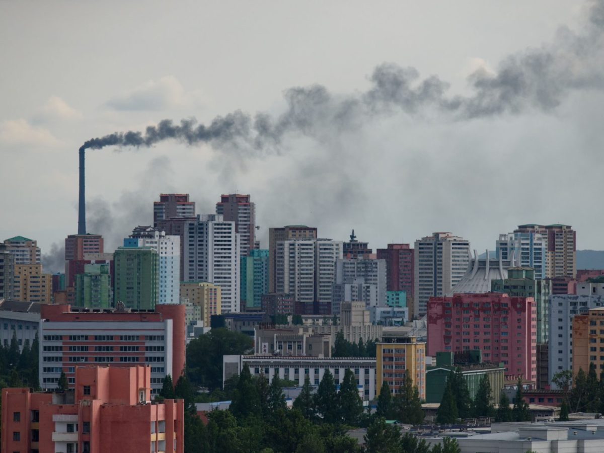 A general view of the Pyongyang city skyline on June 15, 2018. Many analysts say few will want to put money into one of the highest-risk business environments in the world. Photo: AFP/Ed Jones