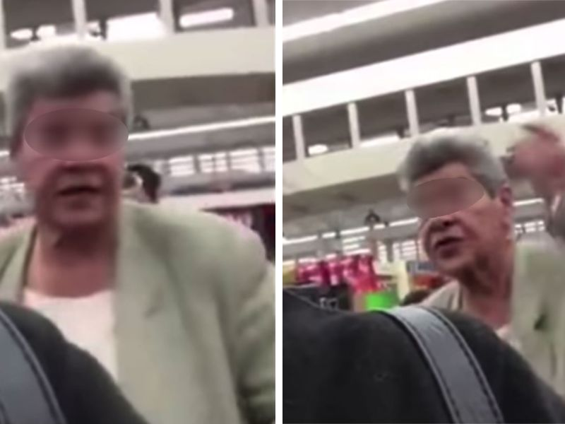 An American elderly woman's racial slurs against a Filipino-American and her family went viral on social media. Photo: YouTube
