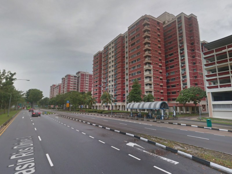 The HDB neighborhood in Pasir Ris in Singapore. Photo: Google Maps