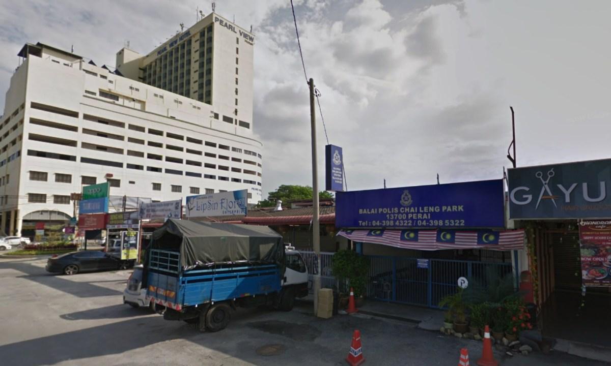 Chai Leng Park Police Station, Seberang Perai Tengah, Pinang, Malaysia. Photo: Google Maps