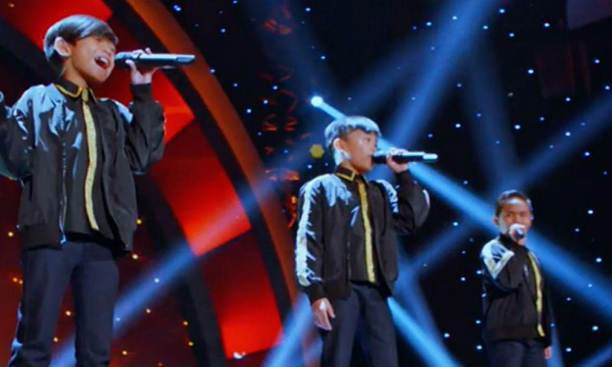 "TNT Boys return to the US version of ""Little Big Shots"". Photo: Little Big Shots US, Facebook"