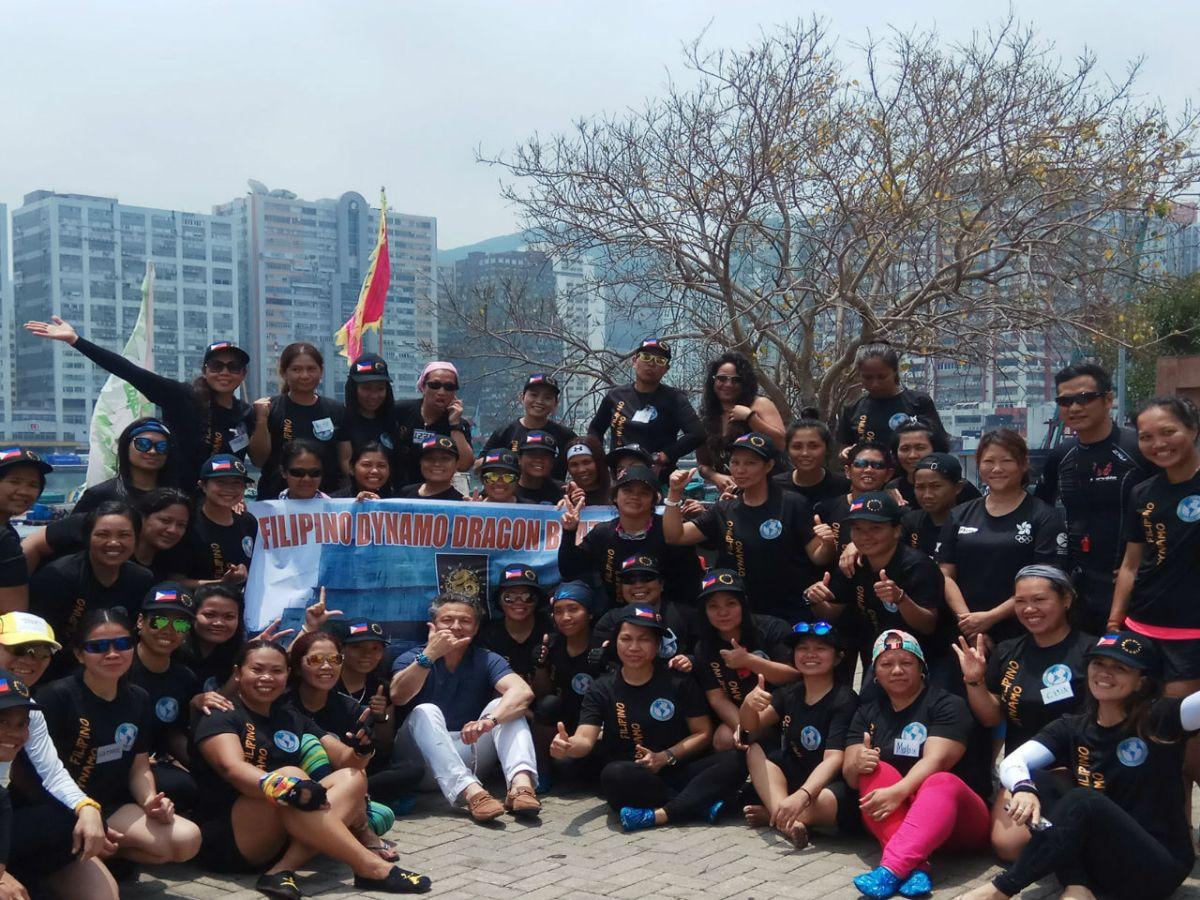 Filipino Dynamo Dragon Boat Team Photo: Filipino Dynamo Dragon Boat Team@ Facebook