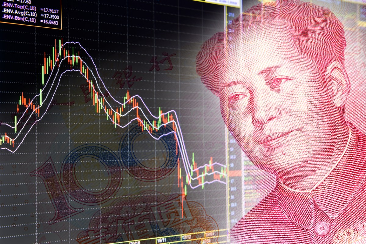 The intensifying trade row with the US is putting downward pressure on China's markets. Photo: iStock