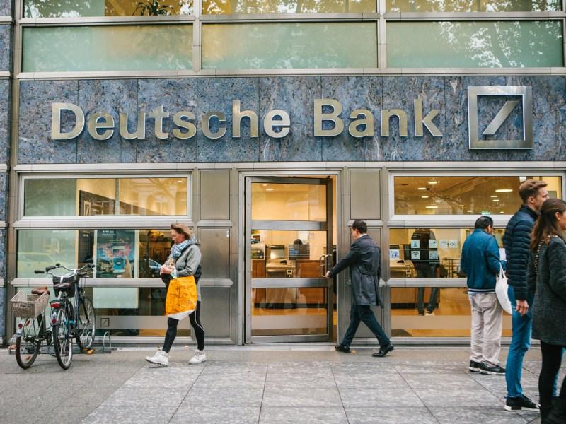 A Berlin branch of the troubled German lender Deutsche Bank. Photo: iStock