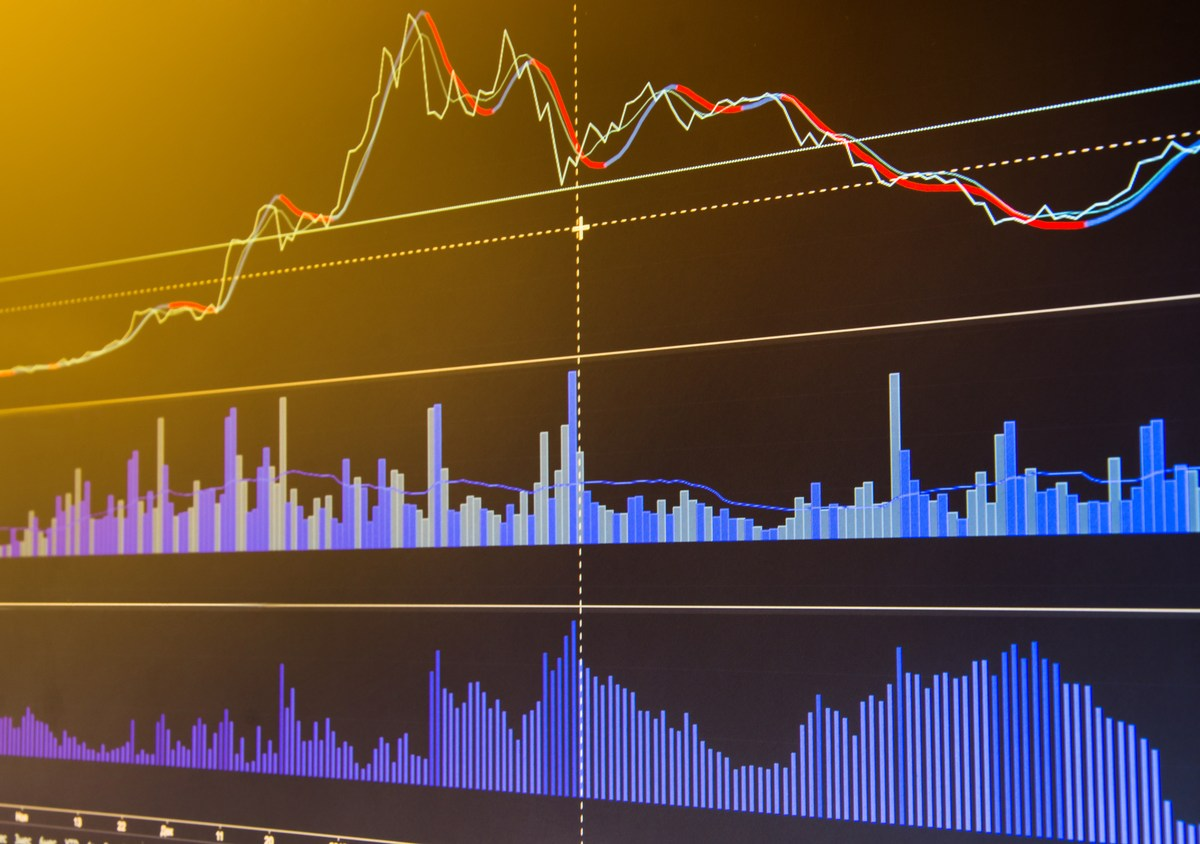 Stock market and other finance themes. Financial data on a monitor. Photo: iStock