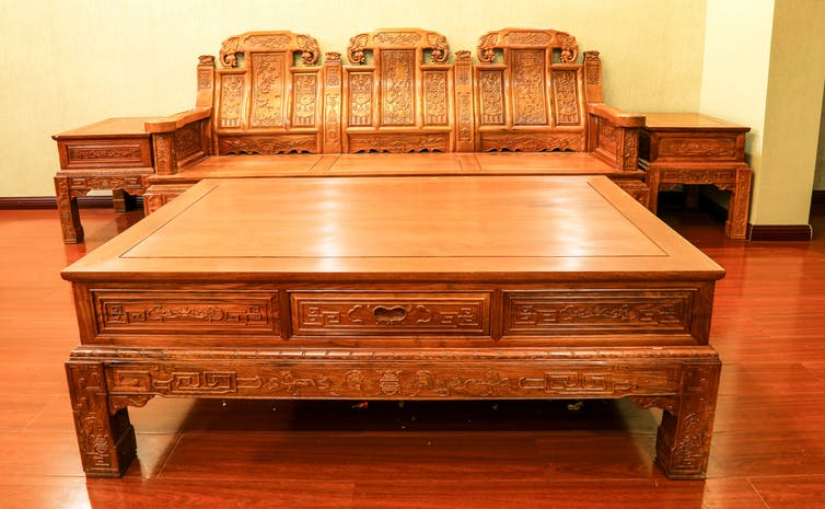 Rosewood is popular in China for 'hongmu' – antique furniture. Photo: Shutterstock/HelloRF Zcool
