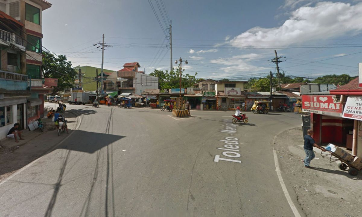 Toledo City in Cebu, Philippines. Photo: Google Maps