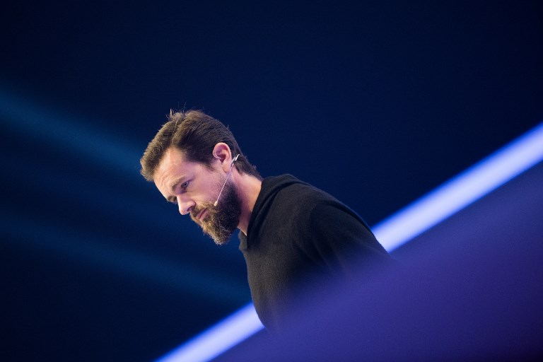 Twitter CEO Jack Dorsey. Photo: dpa via AFP/Rolf Vennenbernd