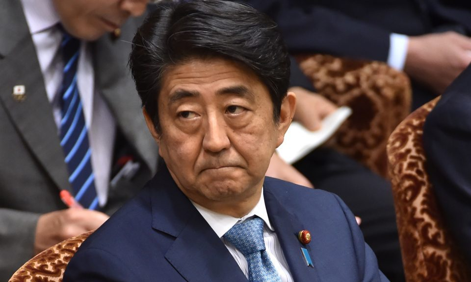 Japan's Shinzo Abe wants to hold his own talks with North Korea's Kim Jong Un. Photo: AFP/Kazuhiro Nogi