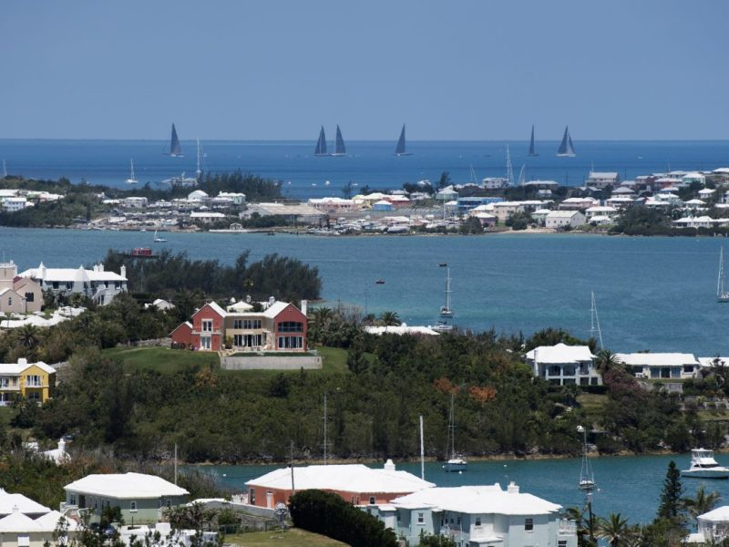 Bermuda is one of three island states proposed to be a safe base once legislation is bought in. Photo: AFP/Don Emert