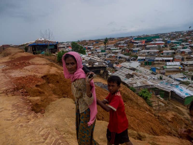 More than 700,000 Rohingya refugees who fled violence in Myanmar in 2017 now live in camps near Cox's Bazar in southern Bangladesh. But a British move in the UN to set a timeline for them to be returned may not succeed. Photo: AFP / Masfiqur Sohan