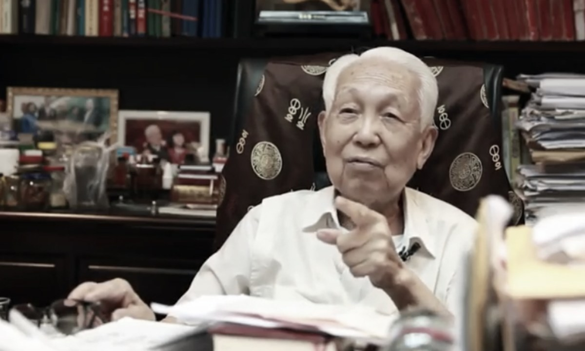 Feng Shui master Choi Pak-lai. Photo: YouTube