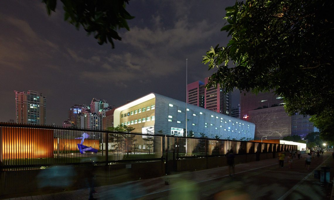 The US Consulate in Guangzhou, China. Photo: State Department website