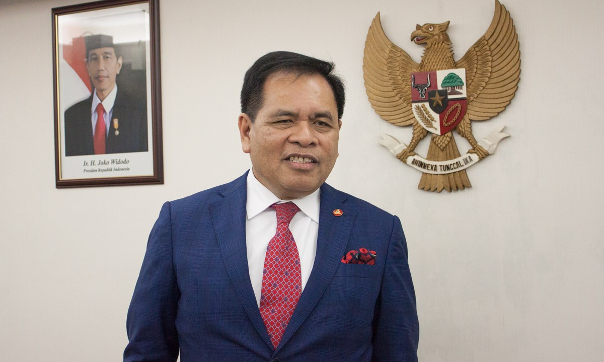 Djauhari Oratmangun, Indonesia's Ambassador to China and Mongolia Photo: Asia Times