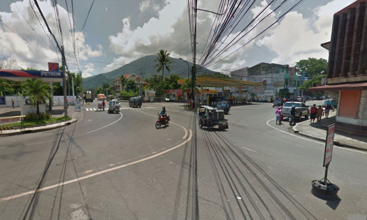 Iriga City in Camarines Sur, Philippines. Photo: Google Maps