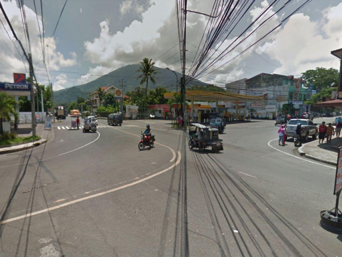 Iriga City in Camarines Sur, Philippines. Photo: Google Maps