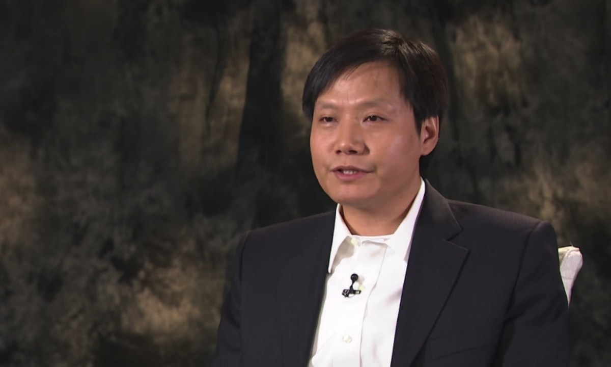 Xiaomi founder and chairman Lei Jun Photo: YouTube