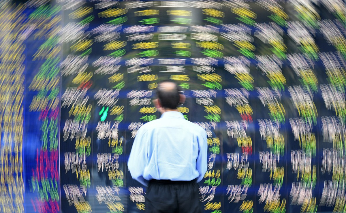 Asia markets ended up being a blur for investors on July 2 as they fell on trade war fears. Photo: AFP / Kazuhiro Nogi