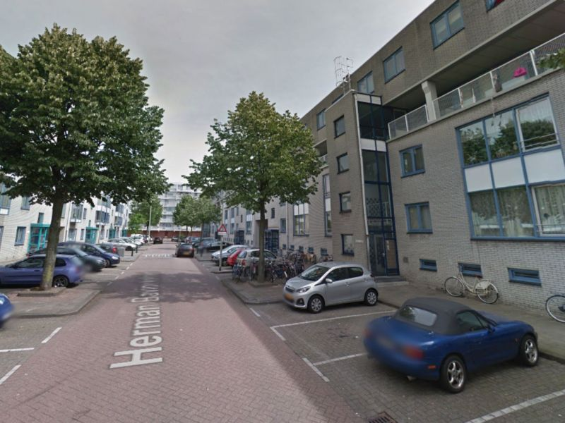 Herman Bavinckstraat in Rotterdam where the Indonesian student was raped. Photo: Google