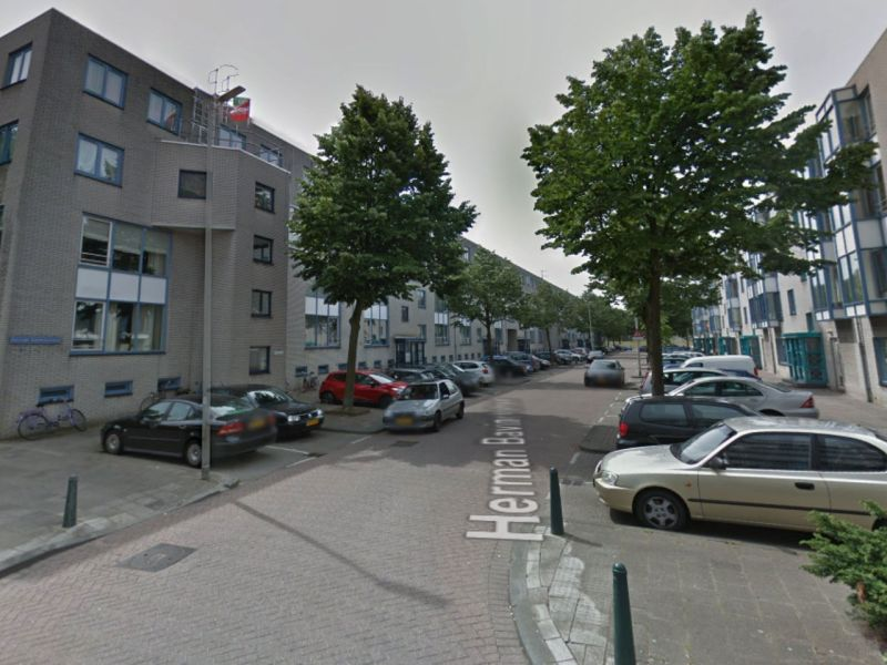 Herman Bavinckstraat in Rotterdam, Netherlands. Photo: Google Maps